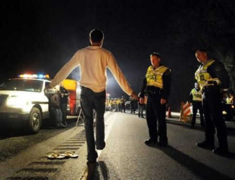 Arrested Atlanta DUI Checkpoint